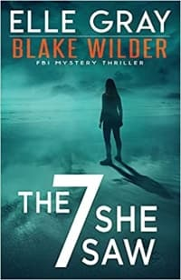 """""""The 7 She Saw"""" by Elle Gray (Book cover)"""