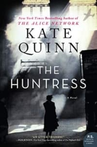 """""""The Huntress"""" by Kate Quinn (Book cover)"""