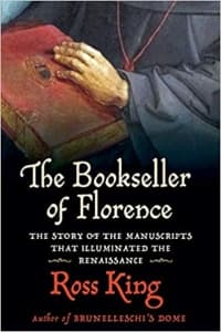 """""""The Bookseller of Florence"""" by Ross King (Book cover)"""