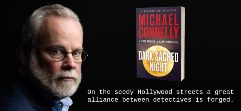 """""""Dark Sacred Night"""" by Michael Connelly (Header image)"""