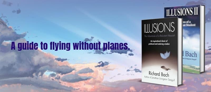 """Illusions"" by Richard Bach (Header image)"