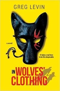 """""""In Wolves' Clothing"""" by Greg Levin (Book cover)"""