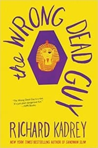 """""""The Wrong Dead Guy"""" by Richard Kadrey (Book cover)"""