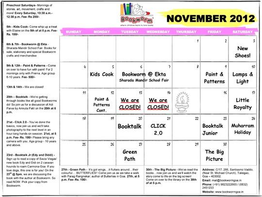 Bookworm-November-2012-Calendar