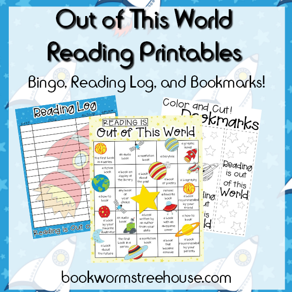Out of This World Reading Printables