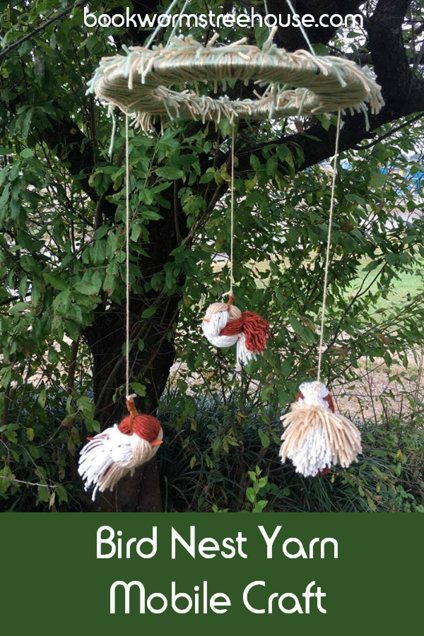 Bird Nest Yarn Craft Mobile