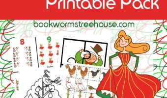 12 Days of Christmas Printable Activities and Advent Books to Read