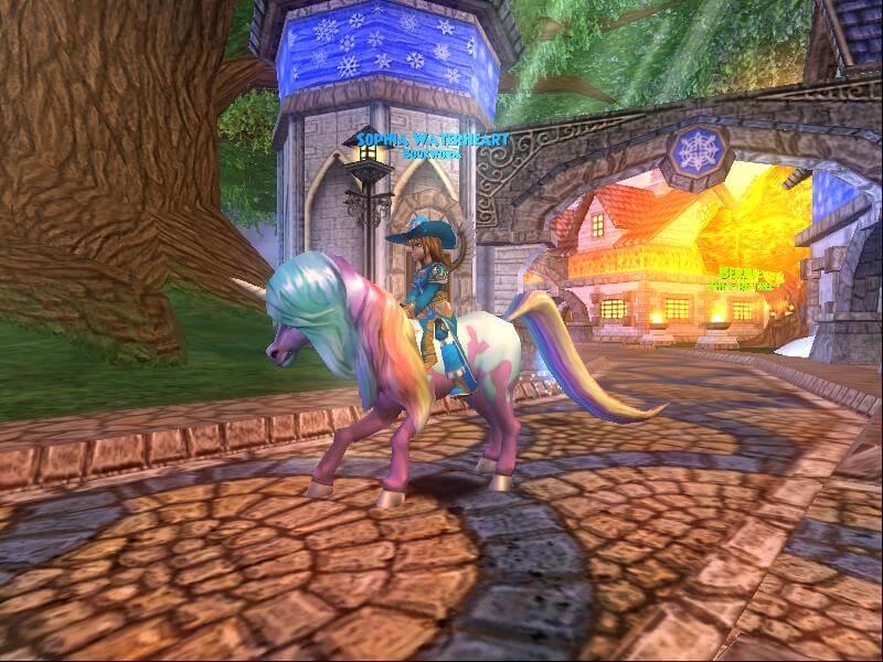 A Peek Into the Unicorn Hoard Pack in Wizard101
