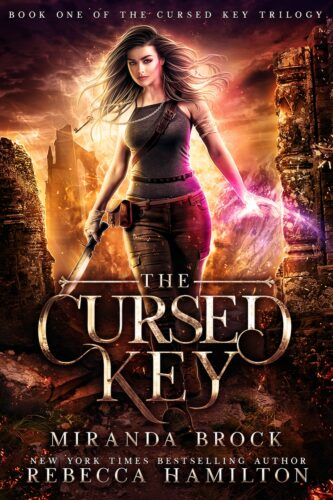 The Cursed Key by Miranda Brock and Rebecca Hamilton | I thought curses in books would be fun