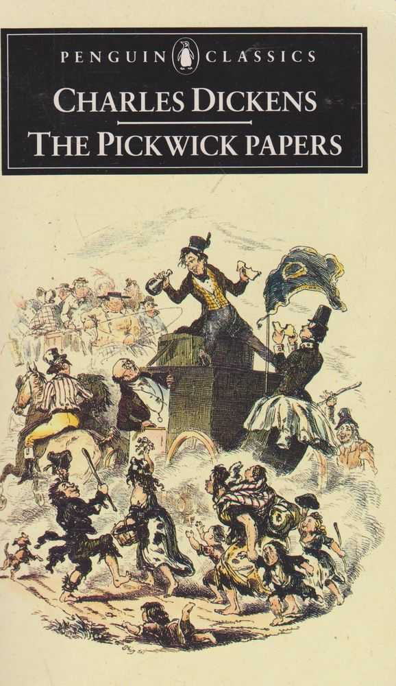 Image result for the pickwick papers book images