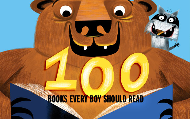 100 Books Every Boy Should Read - Book Zone by Boys' Life