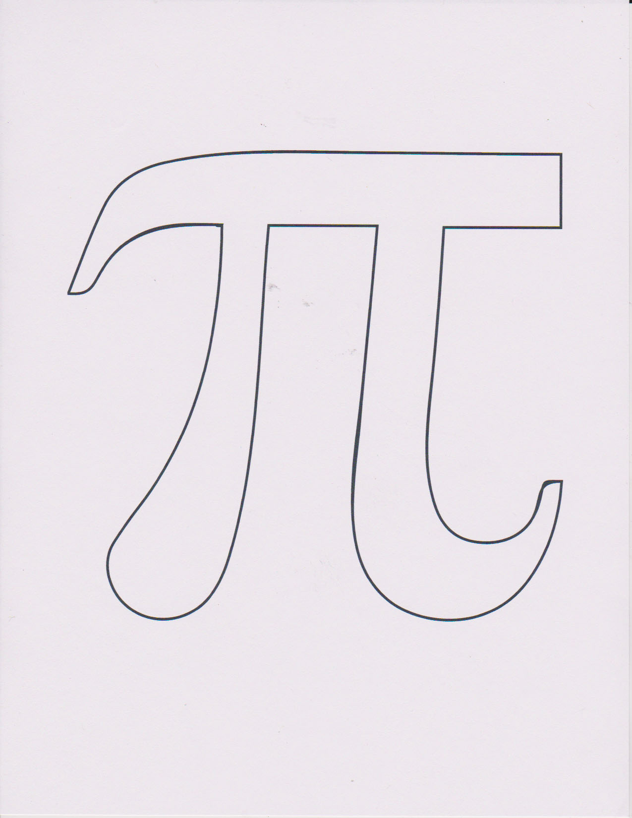 Pi Coloring Pages Playful Bookbinding And Paper Works