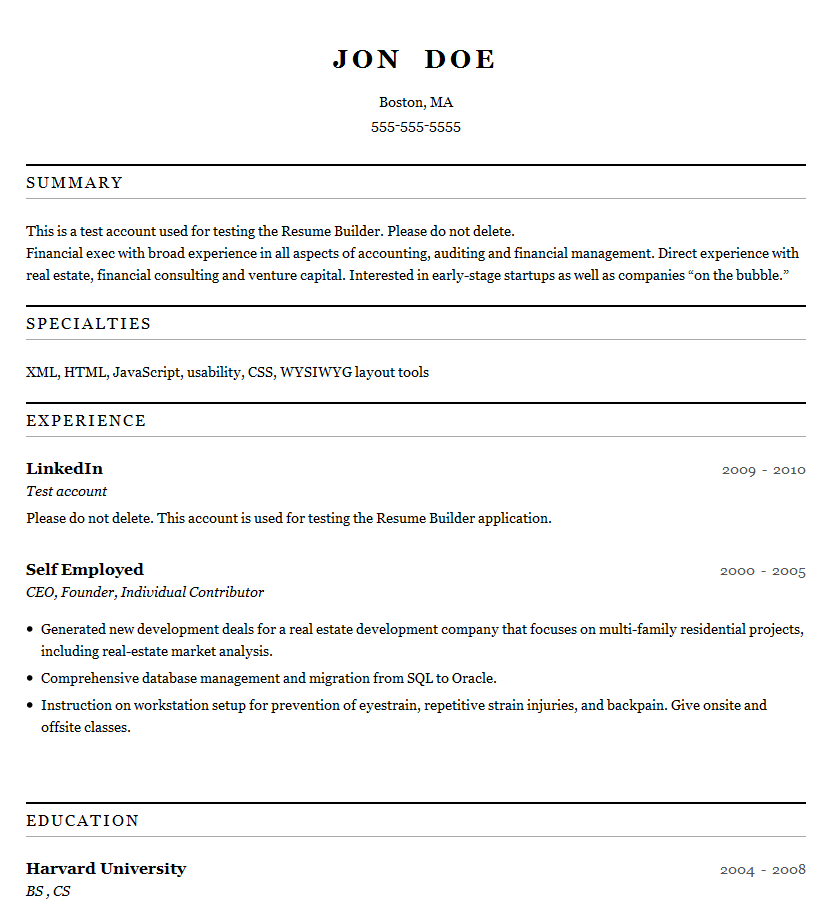 Resume maker professional deluxe 2004