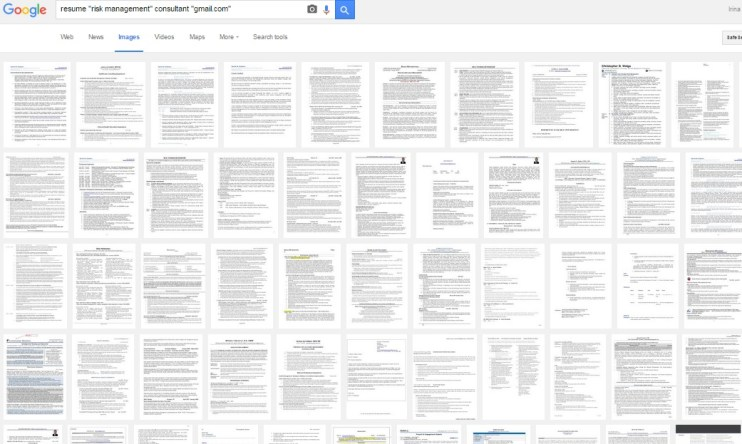 resumes-image-search