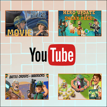 A selection of great and interesting Boom Beach videos!