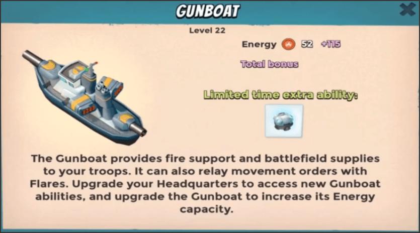 Gunboat cryobomb