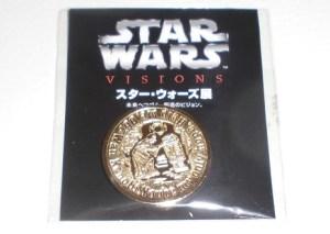 """オリジナルデザインメダル~""""R2-D2&レイア・オーガナ"""""""