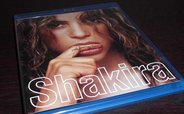 """Shakira""のブルーレイ"