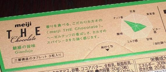 THE チョコレート「魅惑の、旨味。ジャンドゥーヤ」