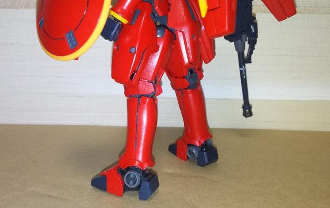 Cool!な赤いトールギス(ブライトマイカレッド)