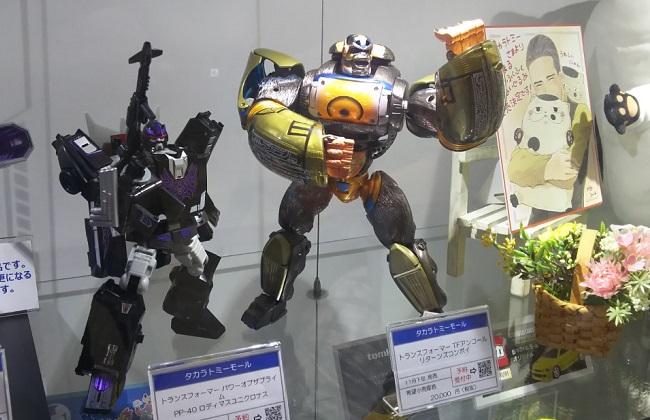 """""""おもちゃショー2018""""のタカラトミーブース"""