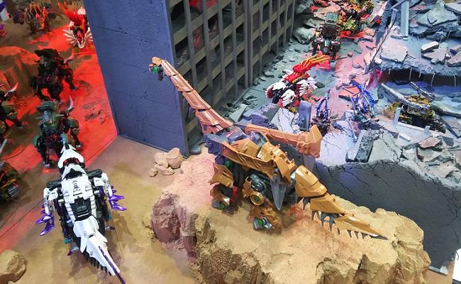 TAKARATOMY(タカラトミー)ブースのゾイドワイルドの様子 …「東京おもちゃショー2019」より