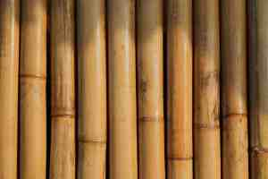 brown bamboo planks