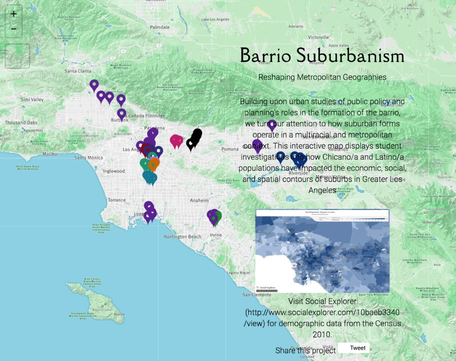 Barrio Suburbanism Map Project