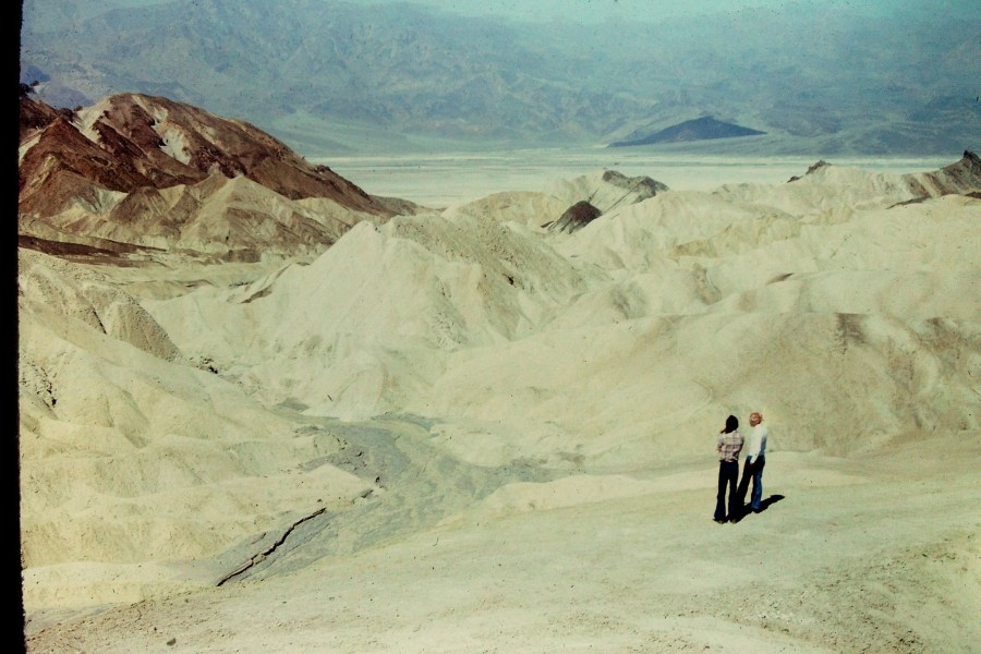 Foucault and Stoneman in Death Valley