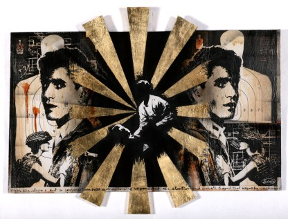 Eddie Colla - Delta via Flickr, based on Sirhan Sirhan's account of the evening he shot Bobby Kennedy.