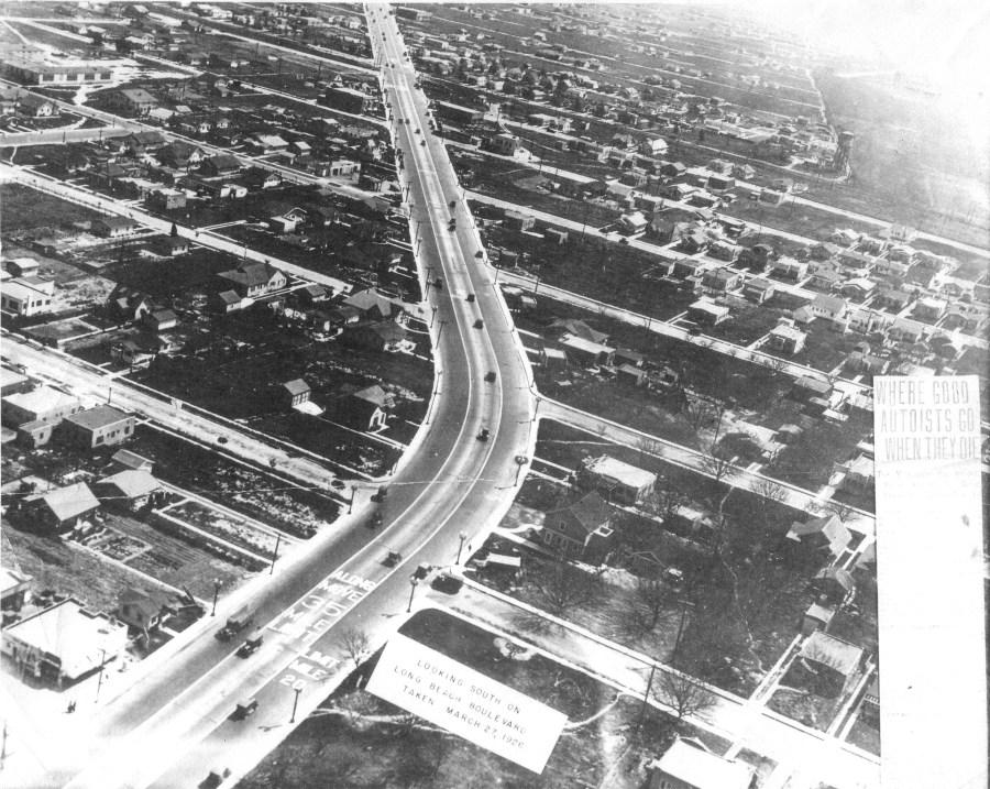 South Gate Aerial