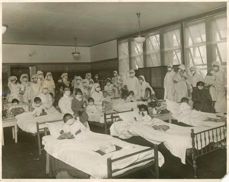 CH_97_03_North_Fig_14-Childrens Ward San Jose Convalescent Hospital Courtesy of History San Jose