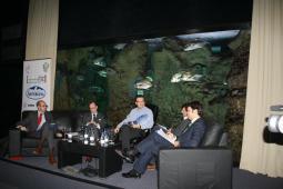 Mesa redonda de la Jornada de Justicia de la I Semana Impulso TIC 2011 en el Acuario de Gijón