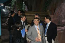 Visita al Acuario de Gijón y vino español en el recorrido en la Jornada de Justicia de la I Semana Impulso TIC 2011