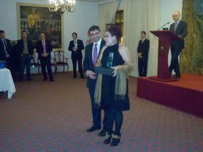 Cena de Gala y entrega de premios de la I Semana Impulso TIC 2011 en el Hotel Reconquista de Oviedo