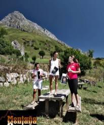 Pódium Mujeres I Km Vertical a Peña Ubiña @C_Cantabrica (Montaña Montaña)