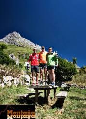 Pódium Veteranos I Km Vertical a Peña Ubiña @C_Cantabrica (Montaña Montaña)
