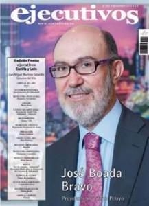 Portada de la Revista Ejecutivos Nº 247 Noviembre 2013