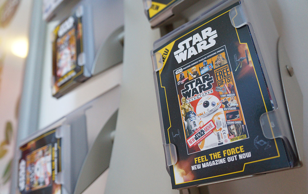star wars ambient advertising in a cinema