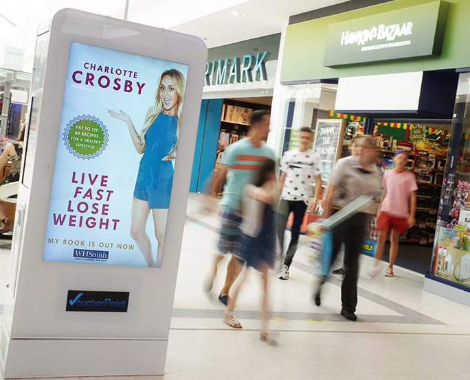 Live fast lose weight D6 in shopping mall
