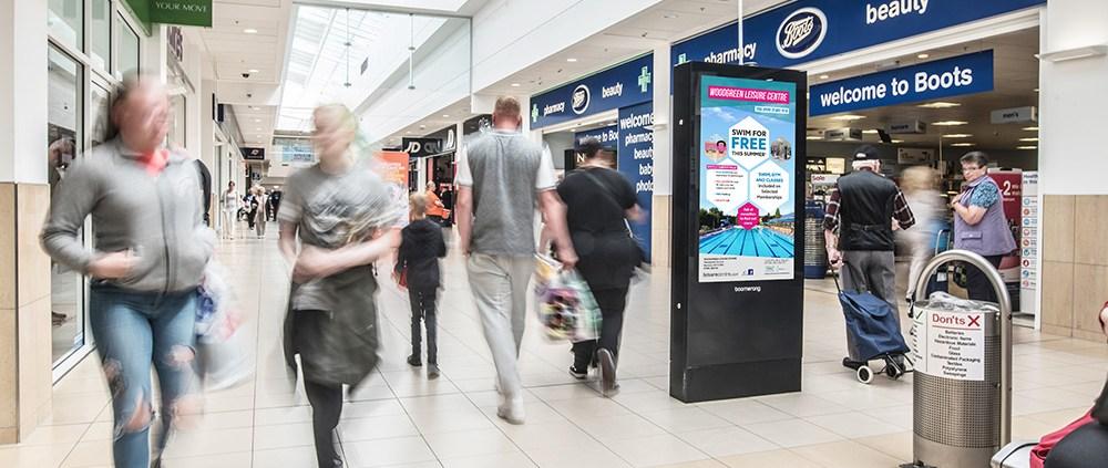 Cumbernauld Advertising Screens
