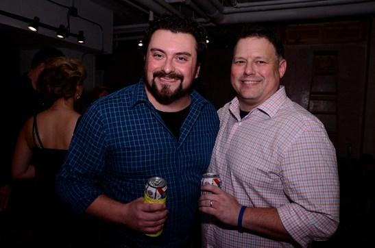 Kirk Gostkowski and Tim Errickson