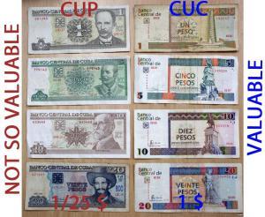 cuban paper money
