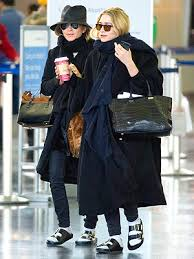 Birkenstock sandals are a fashion favourite of many celebs including the Olsen twins.