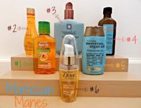 There is a variety of Moroccan oil products on the market. Take your pick.