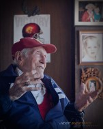 Louie Zamperini saw a preview of the movie about his life before he passed away in 2014.