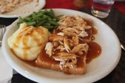 A fresh, hot turkey sandwich is a beautiful thing.