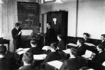Cleese's early education in boys-only schools had a profound affect on him.