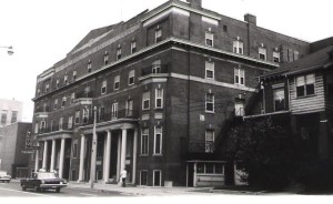 Willard Hall at 20 Gerrard Street East in Toronto, home sweet home for two years.