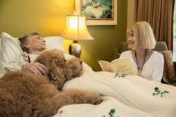 Hospice facilities offer a more home-like atmosphere for end-of-life care.